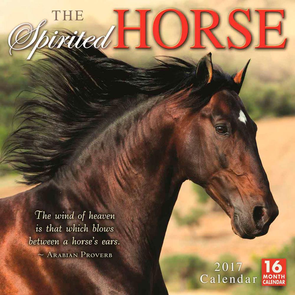 Spirited Horse calendar cover 2017
