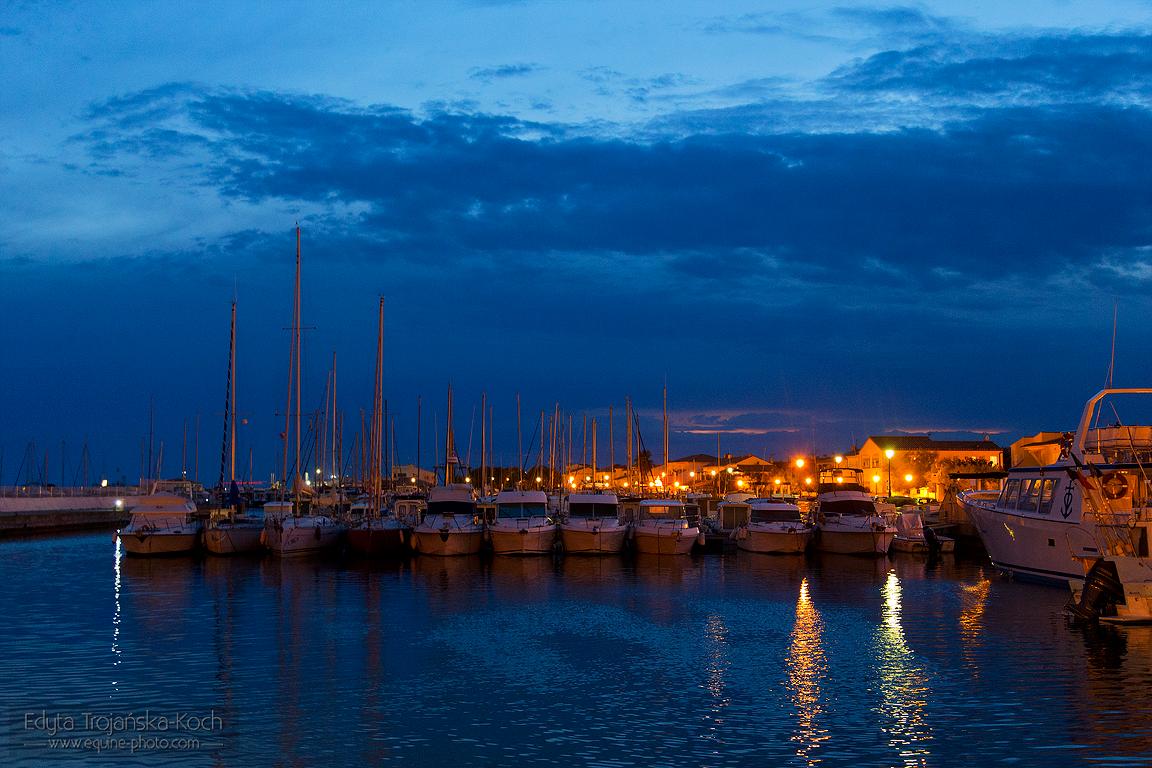 Port w Saintes Maries de la Mer